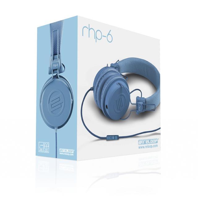 Reloop RHP-6 DJ-Headphone blue