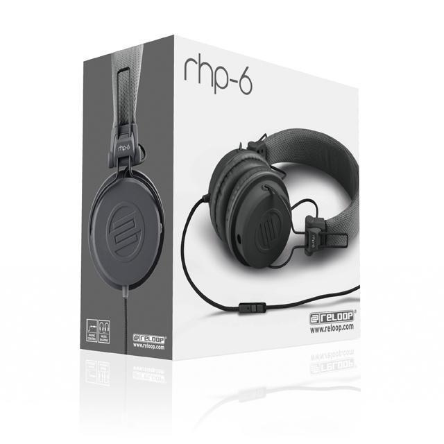 Reloop RHP-6 DJ-Headphone grey