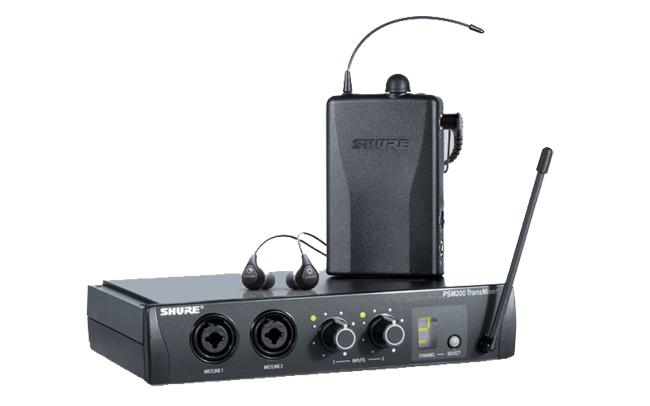 Shure PSM-200 In Ear Monitoring System