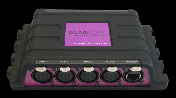Visual Productions QuadCore 2048 DMX SSD Cont