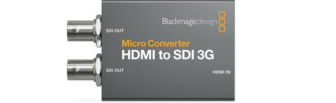 Blackmagic Design Micro Converter HDMI-SDI 3G