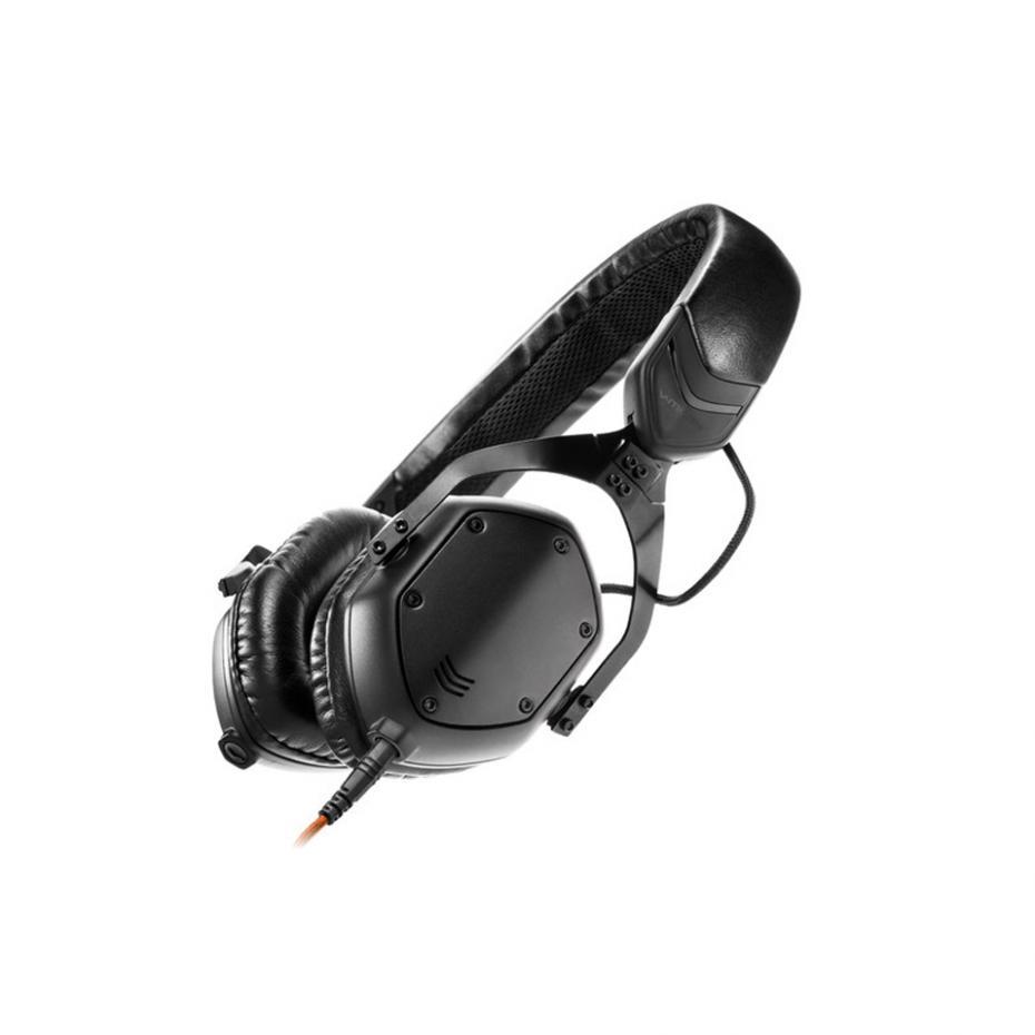 V-Moda XS On-Ear Matte Black Metal