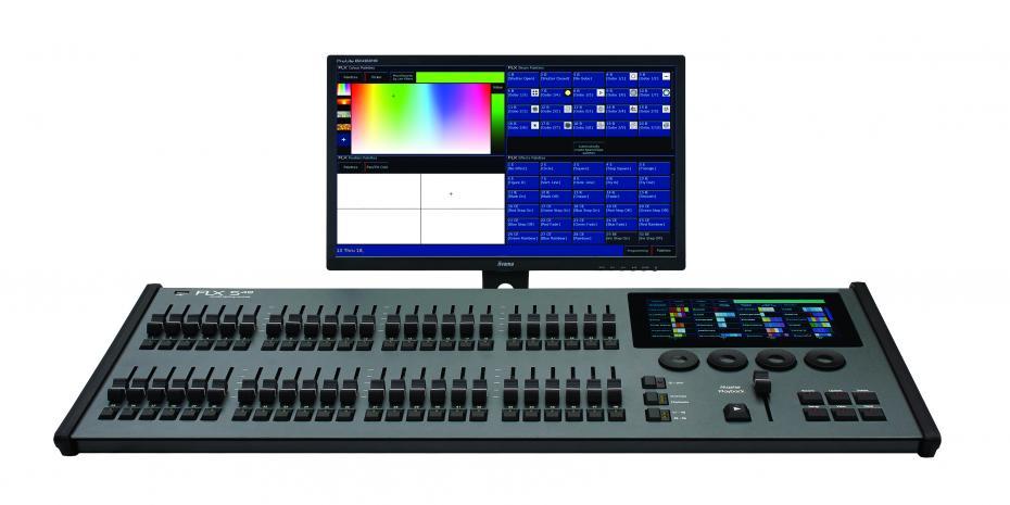 Zero-88 FLX S48 Lichtsteuerung 1024 Ch./f. 96