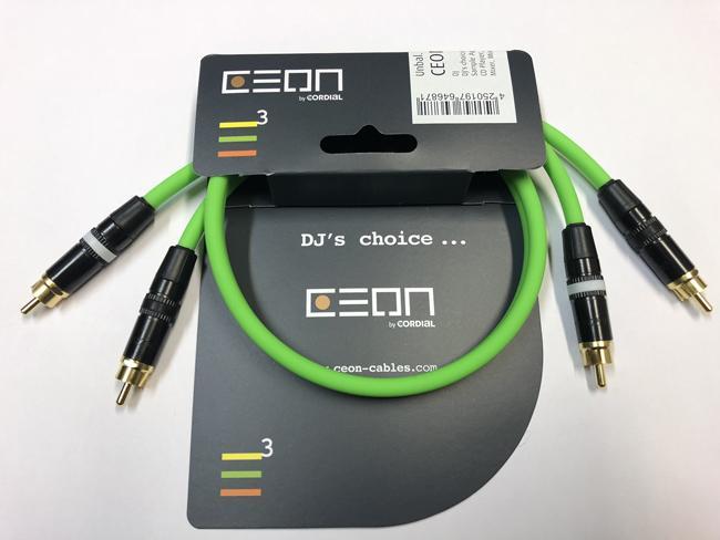 Cordial Ceon Ci2-Ci2 0,6m green