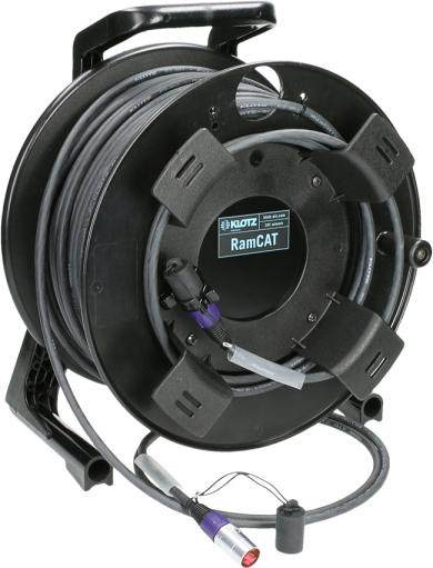 Klotz CAT-5 Kabel Trommel Ethercon 100m