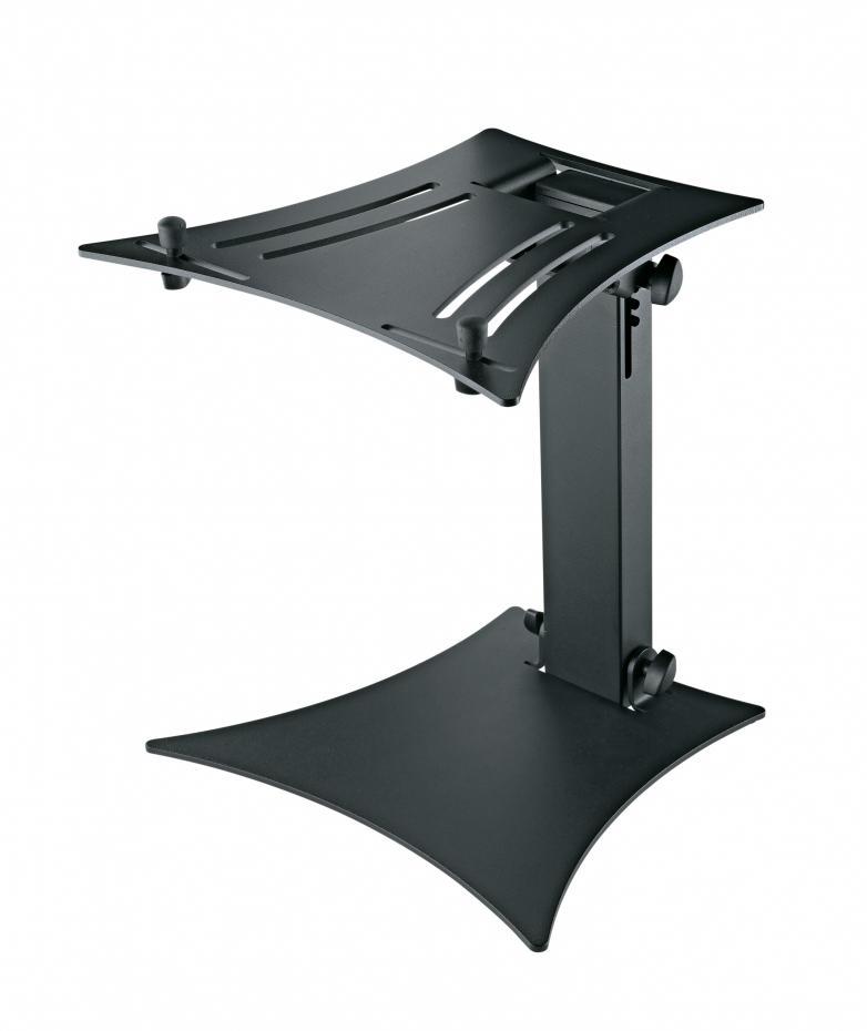 K&M 12190 Laptopstand schwarz