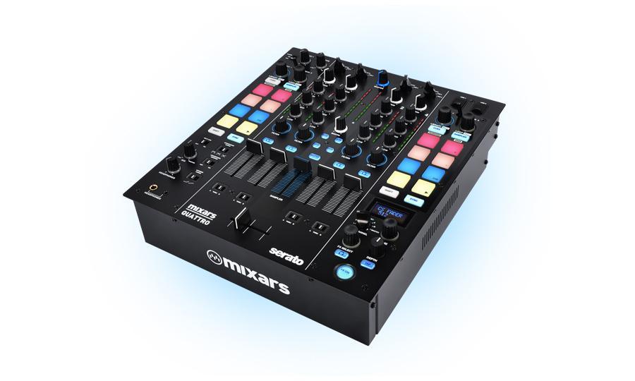 Mixars Quattro DJ-Mixer