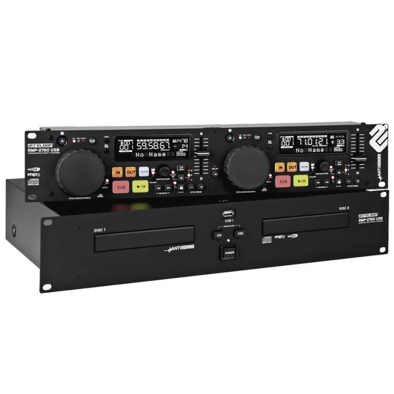 Reloop RMP-2760 Doppel-CD/MP3/USB-Player 19